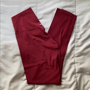 2/$20🦋Aerie Real Me Red 7/8 Legging Size S